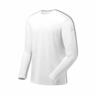 Asics Men's Core Long Sleeve (White)