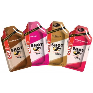 Clif Shot Chocolate Cherry Gel 6 Pack