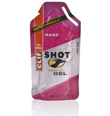 Clif Shot Raspberry Gel 6 Pack