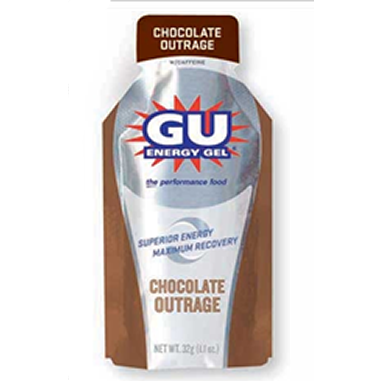Gu Chocolate Outrage Gel 6 Pack