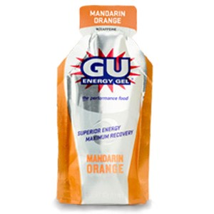 Gu Mandarin Orange Gel 6 Pack