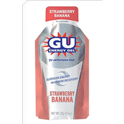 Gu Strawberry Banana Energy Gel 6 pack
