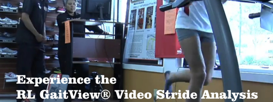 RL GaitView® Video Stride Analysis