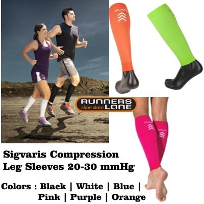 Sigvaris Performance Leg Sleeves Assorted Colors (20-30mmHg)
