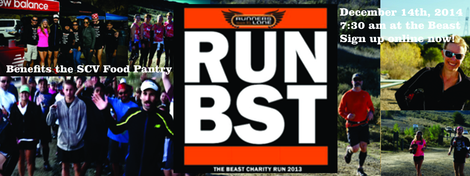 Let's Run the Beast for Charity