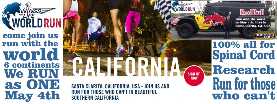 Santa Clarita, California, USA - Join us and run for those who can't in beautiful Southern California