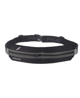 Fitletic Water Resistant Double Pocket Runner Belt