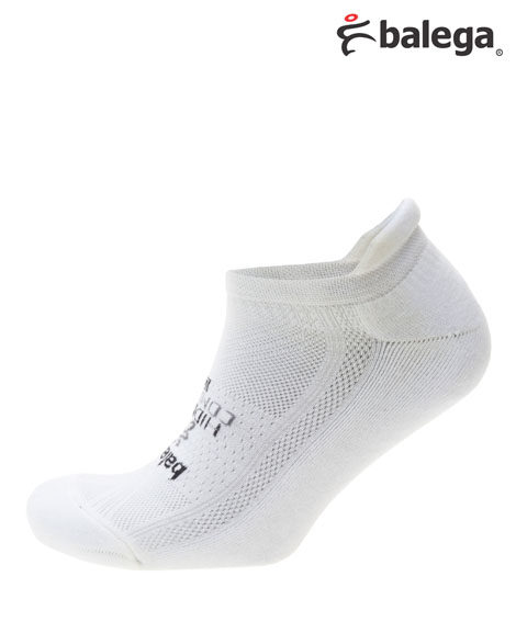 balega hidden comfort athlete tab white