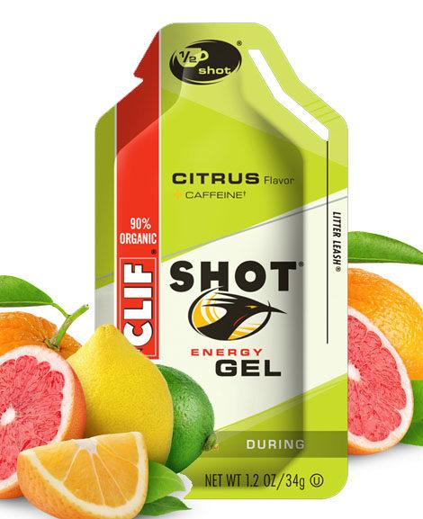 clif shot citrus gel