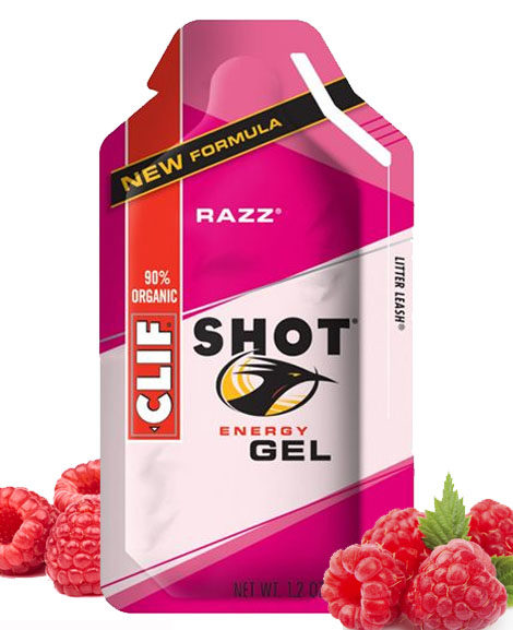 clif shot raspberry gel