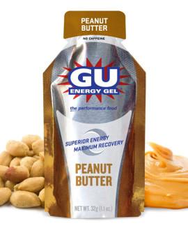 gu peanute butter gel